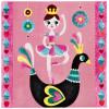 Набор для творчества JANOD J07757 Балерина с блестками