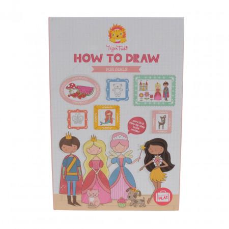 Набор TIGER TRIBE 6-0219 Учимся рисовать Для девочек