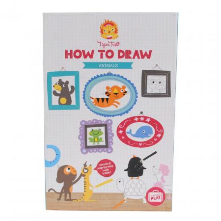 Набор TIGER TRIBE 6-0218 Учимся рисовать Животные