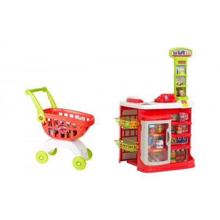 Игровой набор SMART 1684458.00 Супермаркет с тележкой