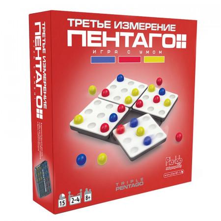 Настольная игра MARTINEX M6258 Пентаго Третье Измерение