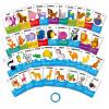 Набор VLADI TOYS VT5000-03 Карточки на кольце Животные