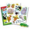 Развивающая игра VLADI TOYS VT3106-02 Мой маленький мир Зоопарк