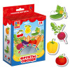 Развивающая игра VLADI TOYS VT3106-03 Мой маленький мир Овощи, фрукты
