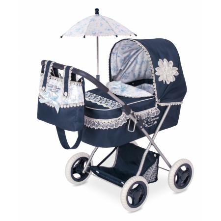Коляска DECUEVAS TOYS 85025 с сумкой и зонтиком 60см
