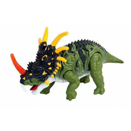 Игрушка CHAP MEI 520102-2 Подвижная фигура Стиракозавр (звук, свет)