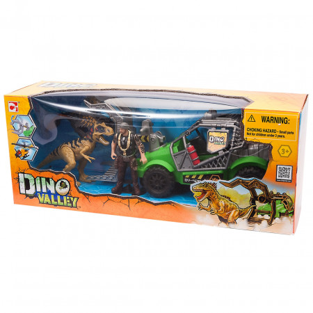 Игровой набор CHAP MEI 542002-2 Охотник за динозаврами (джип)
