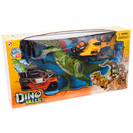 Игровой набор CHAP MEI 542054 Большая охота на Тиранозавра (свет, звук)