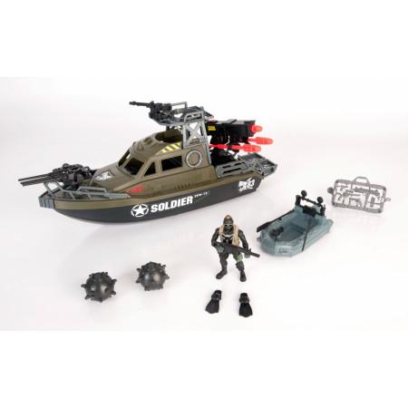Игровой набор CHAP MEI 521004 Ракетный катер с лодкой