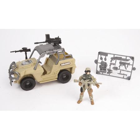 Игровой набор CHAP MEI 521064-2 Армейский внедорожник