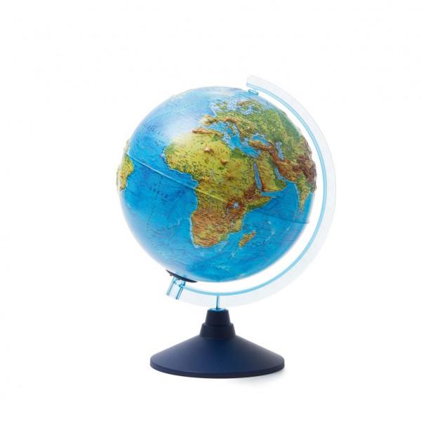 Глобус GLOBEN Интерактивный физико-политический рельефный с подсветкой (батарейки) 250 INT12500287