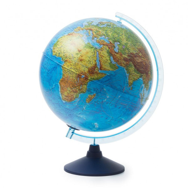 Глобус GLOBEN Интерактивный физико-политический с подсветкой (батарейки) 320 INT13200289