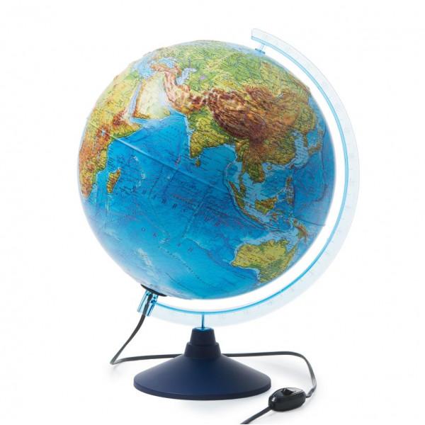 Глобус GLOBEN Интерактивный физико-политический с подсветкой рельефный 320 с очками VR INT13200290
