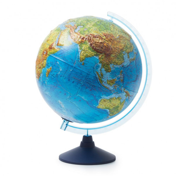 Глобус GLOBEN Интерактивный физико-политический рельефный с подсветкой (батарейки) 320 с очками VR INT13200291