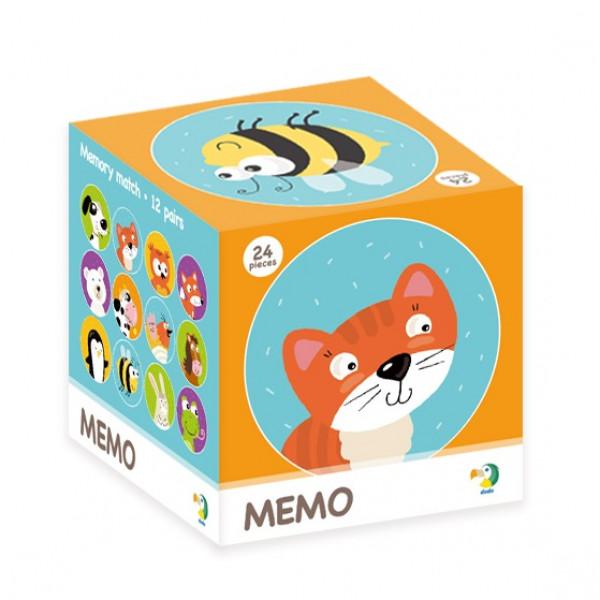 Настольная игра DODO Мемори животные 300145