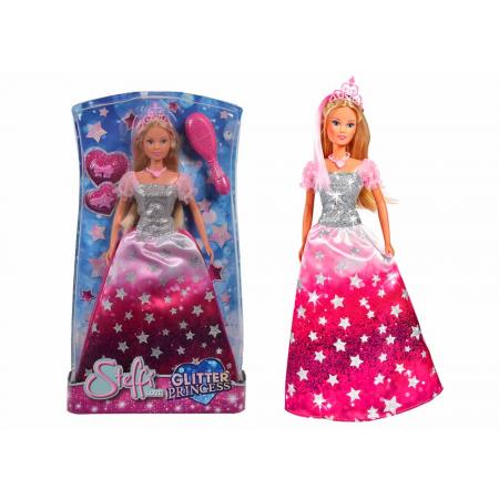 Кукла STEFFI в блестящем платье и тиарой 5733317