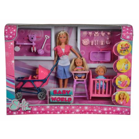 Кукла STEFFI с тремя пупсами 5736350029
