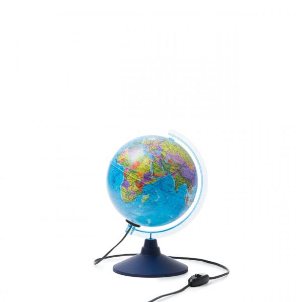 Глобус GLOBEN Земли интерактивный политический с подсветкой 210мм с очками VR INT12100294