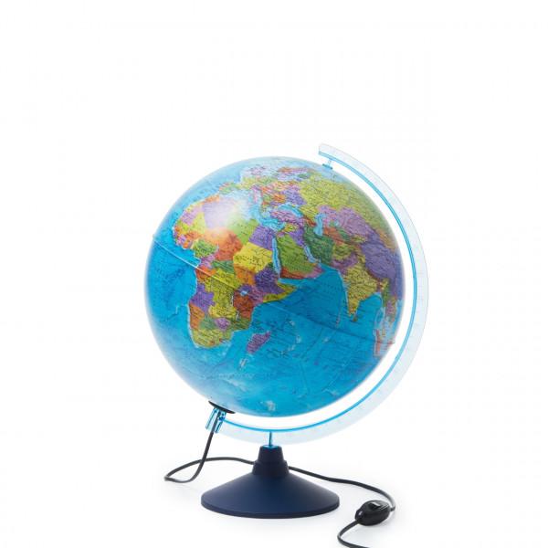 Интерактивный глобус GLOBEN политический с подсветкой 320 мм с очками VR INT13200312
