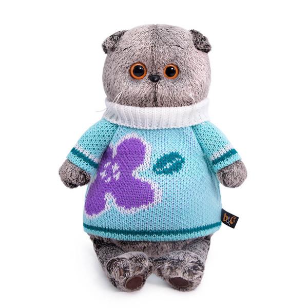 Мягкая игрушка BUDI BASA Басик в весеннем свитере 25 см Ks25-141