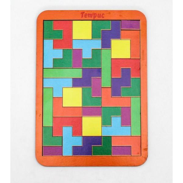 Логическая игра WOODLANDTOYS Тетрис большой 065101