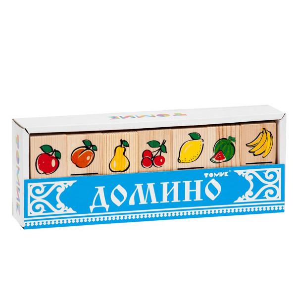 Домино ТОМИК Фрукты-ягоды 5555-5