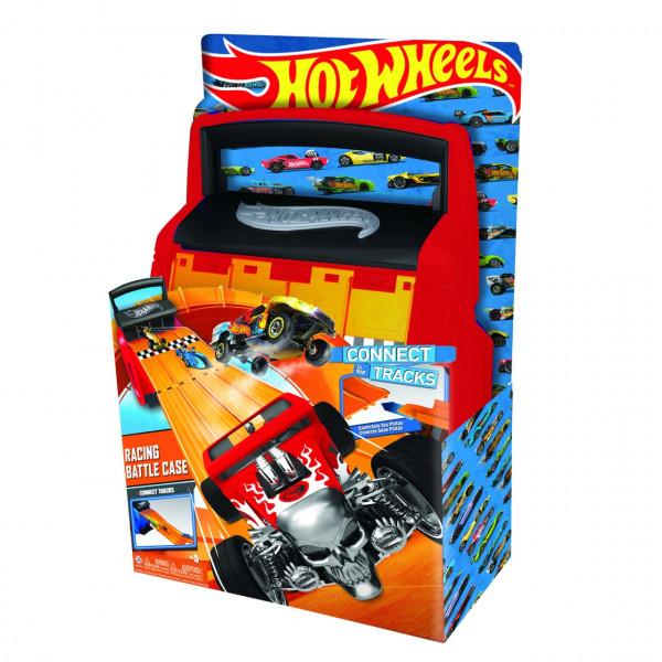 Кейс для хранения HOT WHEELS автотрек оранжевый HWCC4