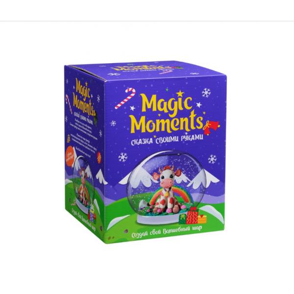 Набор для творчества MAGIC MOMENTS Волшебный шар Корова mm-25