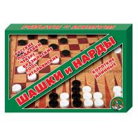Настольная игра ДЕСЯТОЕ КОРОЛЕВСТВО 01069 Шашки/Нарды
