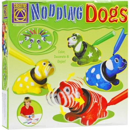 CREATIVE 5673 Разукрась кивающих собачек