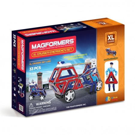 Магнитный конструктор MAGFORMERS 706002 (63079) Набор cruisers службы спасения