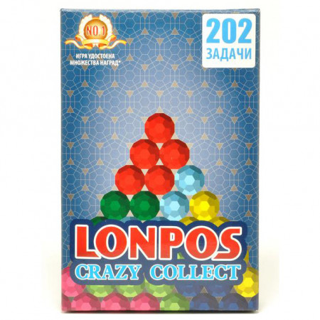 Головоломка LONPOS lonpos202 Crazy Collect