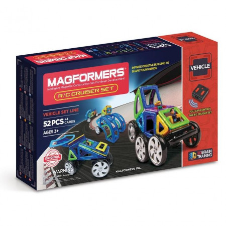 Магнитный конструктор MAGFORMERS 707003 (63091) R/C Cruiser Set