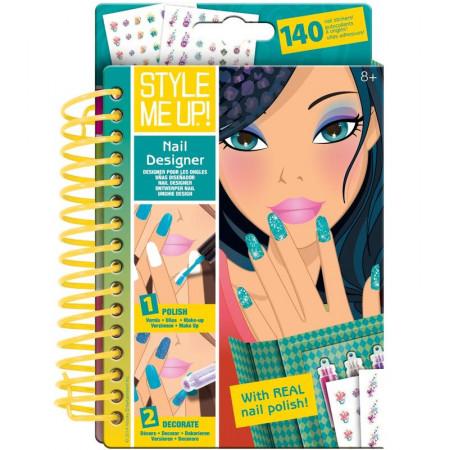 Набор STYLE ME UP! 1479 Блокнот дизайнерский маникюр.