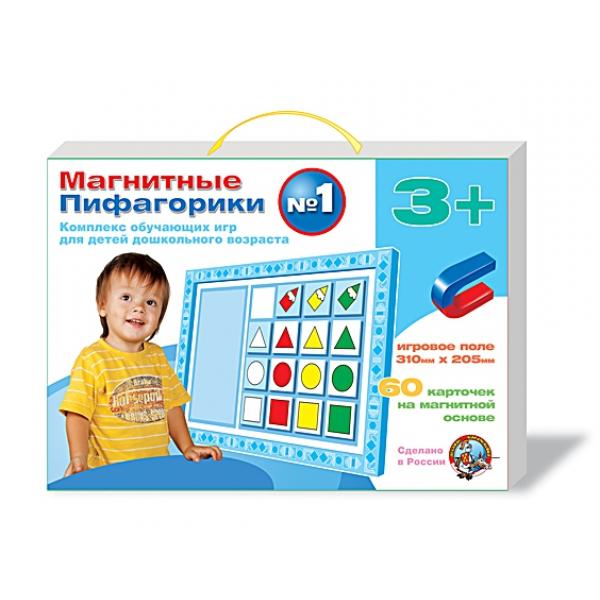 Набор ДЕСЯТОЕ КОРОЛЕВСТВО Магнитные пифагорики 3+ 01496