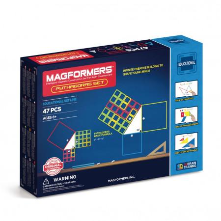 Магнитный конструктор MAGFORMERS 711003 (63113) Пифагор