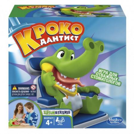Настольная игра HASBRO GAMING B0408121 Крокодильчик дантист