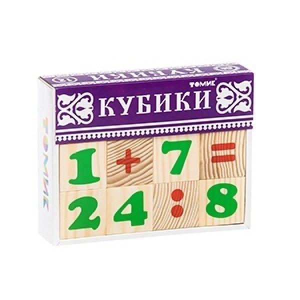 Кубики ТОМИК Цифры (12 шт). 1111-3