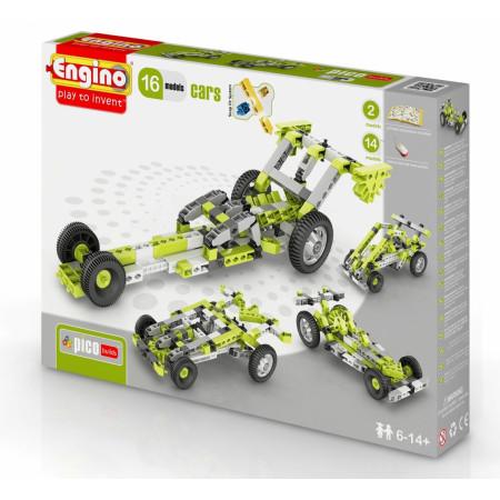 Конструктор ENGINO PB41 INVENTOR Автомобили - 16 моделей