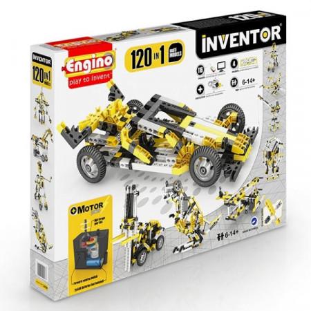 Конструктор ENGINO 12030 INVENTOR Набор из 120 моделей с мотором