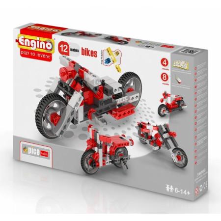 Конструктор ENGINO PB 32 INVENTOR Мотоциклы - 12 моделей