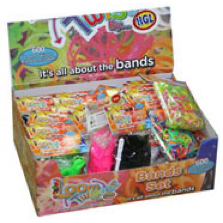 LOOM TWISTER SV11823 Набор цветных резинок для плетения фенечек