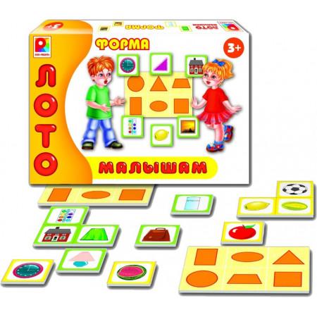 Развивающая игра РАДУГА С-909 Лото малышам. Форма