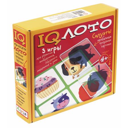 Игровой набор АЙРИС-ПРЕСС 56600 Пластиковое лото. Силуэты (4+)