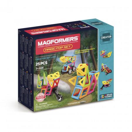 Магнитный конструктор MAGFORMERS 703005 (63130) Magic Pop