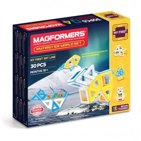 Магнитный конструктор MAGFORMERS 702003 (63136) Ice World
