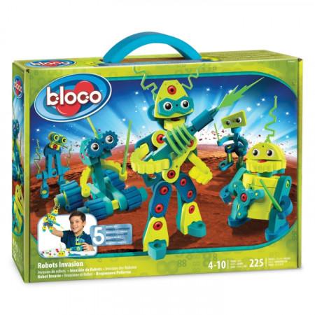 Конструктор BLOCO 30442 Вторжение Роботов