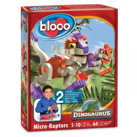 Конструктор BLOCO 30112 Динозавр Микрораптор