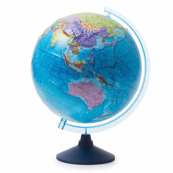 Глобус GLOBEN политический рельефный 320 мм Ке013200230