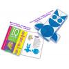 Кубики АЙРИС-ПРЕСС 61055 Умные кубики. Силуэты. 50 игр для развития интеллекта